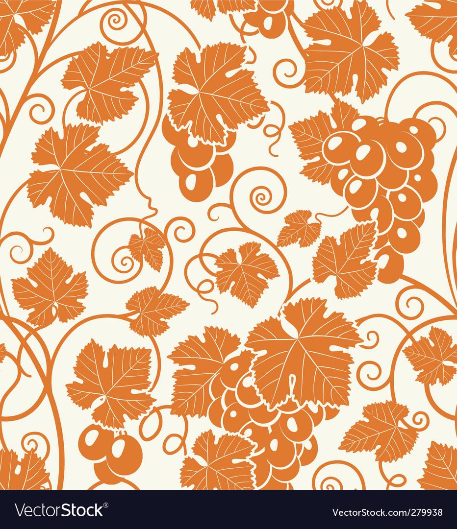 Grape pattern vector | Price: 1 Credit (USD $1)