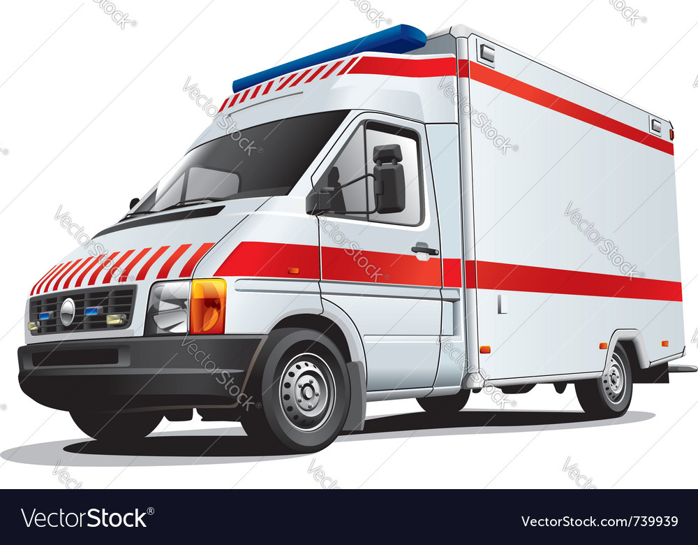Ambulance vector | Price: 5 Credit (USD $5)