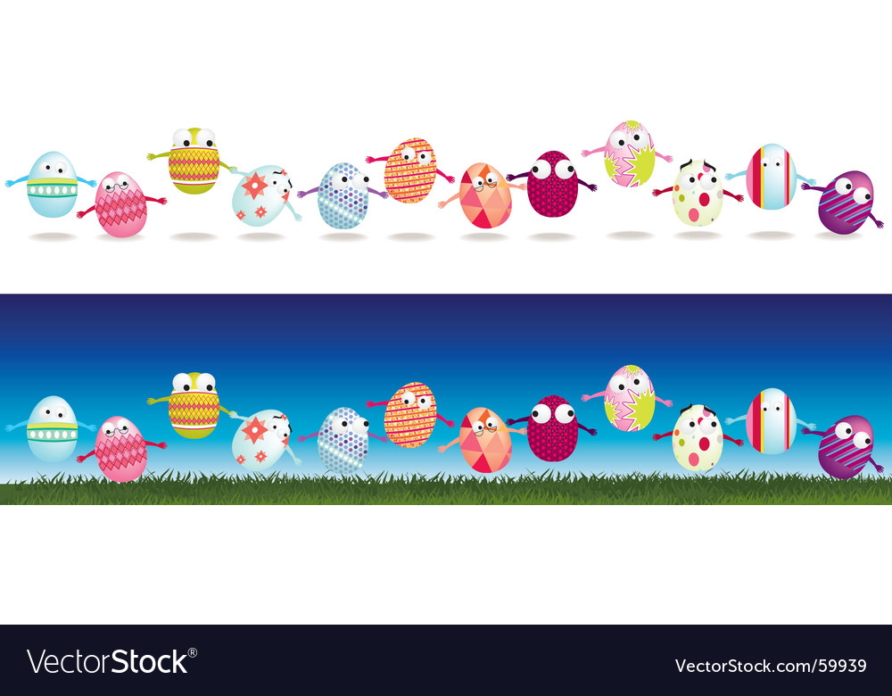 Egg strips vector | Price: 1 Credit (USD $1)
