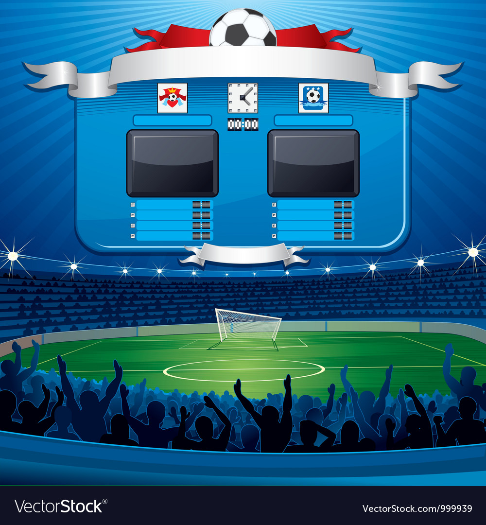 Sports stadiums vector | Price: 1 Credit (USD $1)