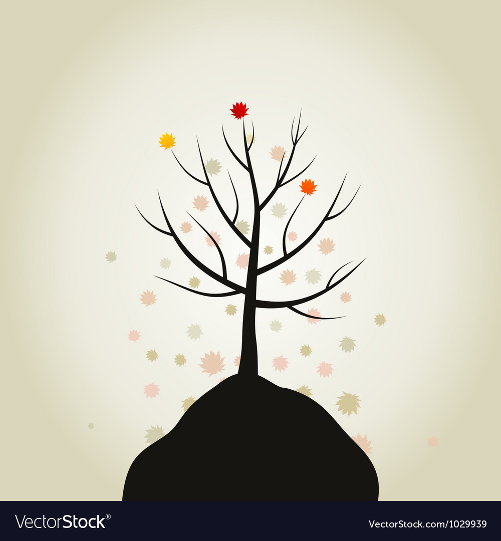 Tree autumn vector | Price: 1 Credit (USD $1)