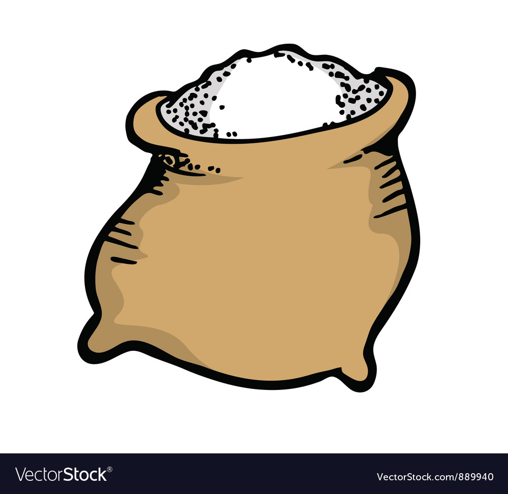 Sack of sugar vector | Price: 1 Credit (USD $1)