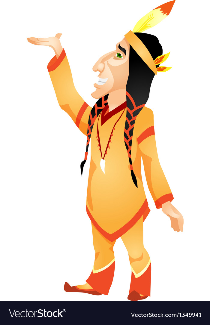 Aborigine vector | Price: 1 Credit (USD $1)