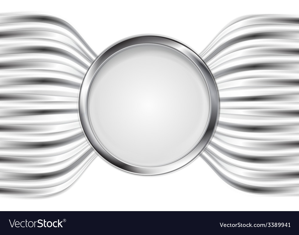 Abstract silver metal background vector | Price: 1 Credit (USD $1)
