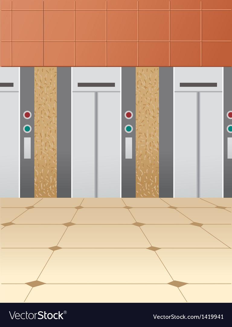 Elevator floor vector | Price: 1 Credit (USD $1)