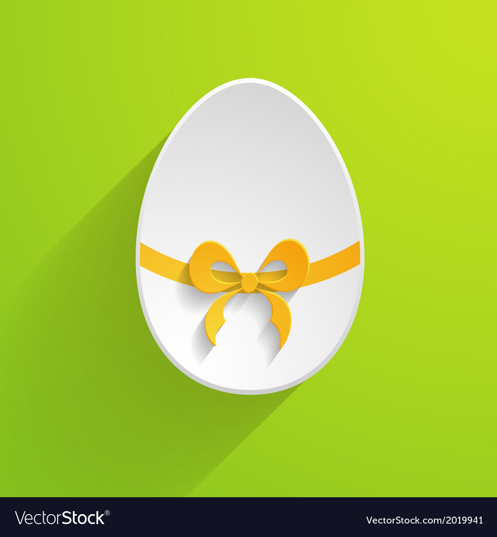 Paper easter egg vector | Price: 1 Credit (USD $1)