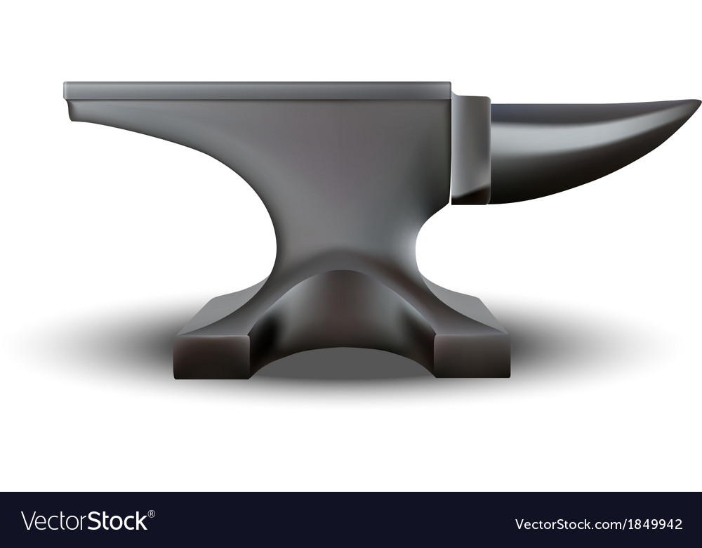 Anvil isolated vector | Price: 1 Credit (USD $1)