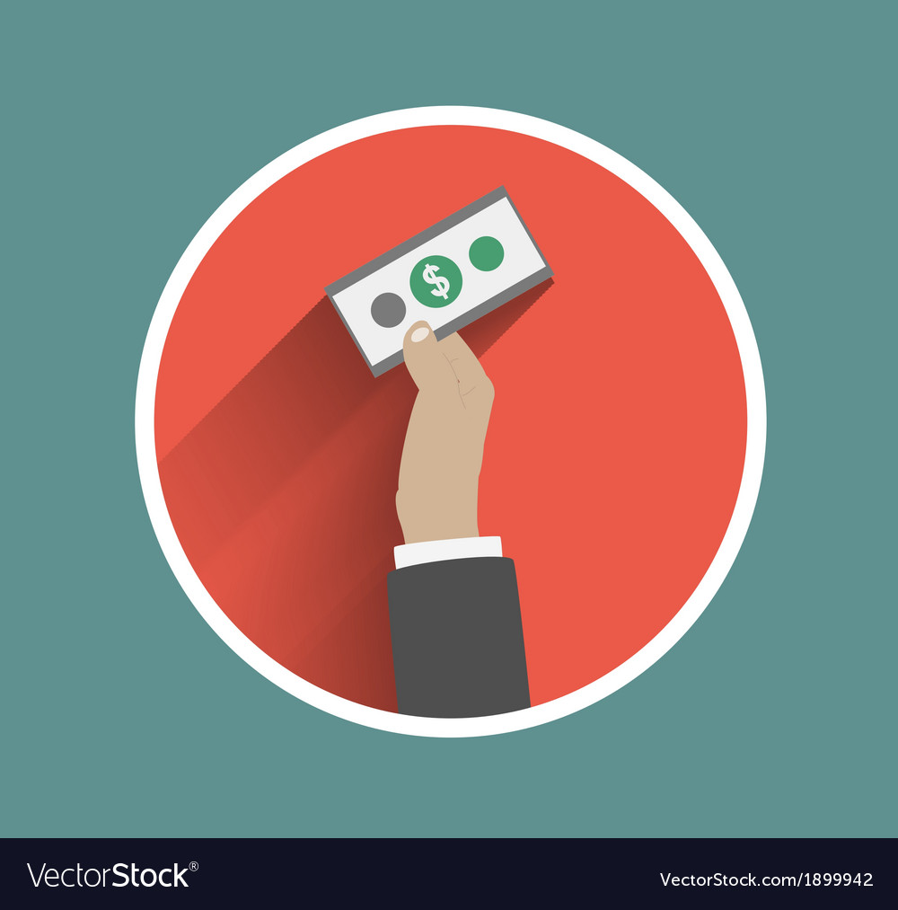 Business hand action concepts vector | Price: 1 Credit (USD $1)