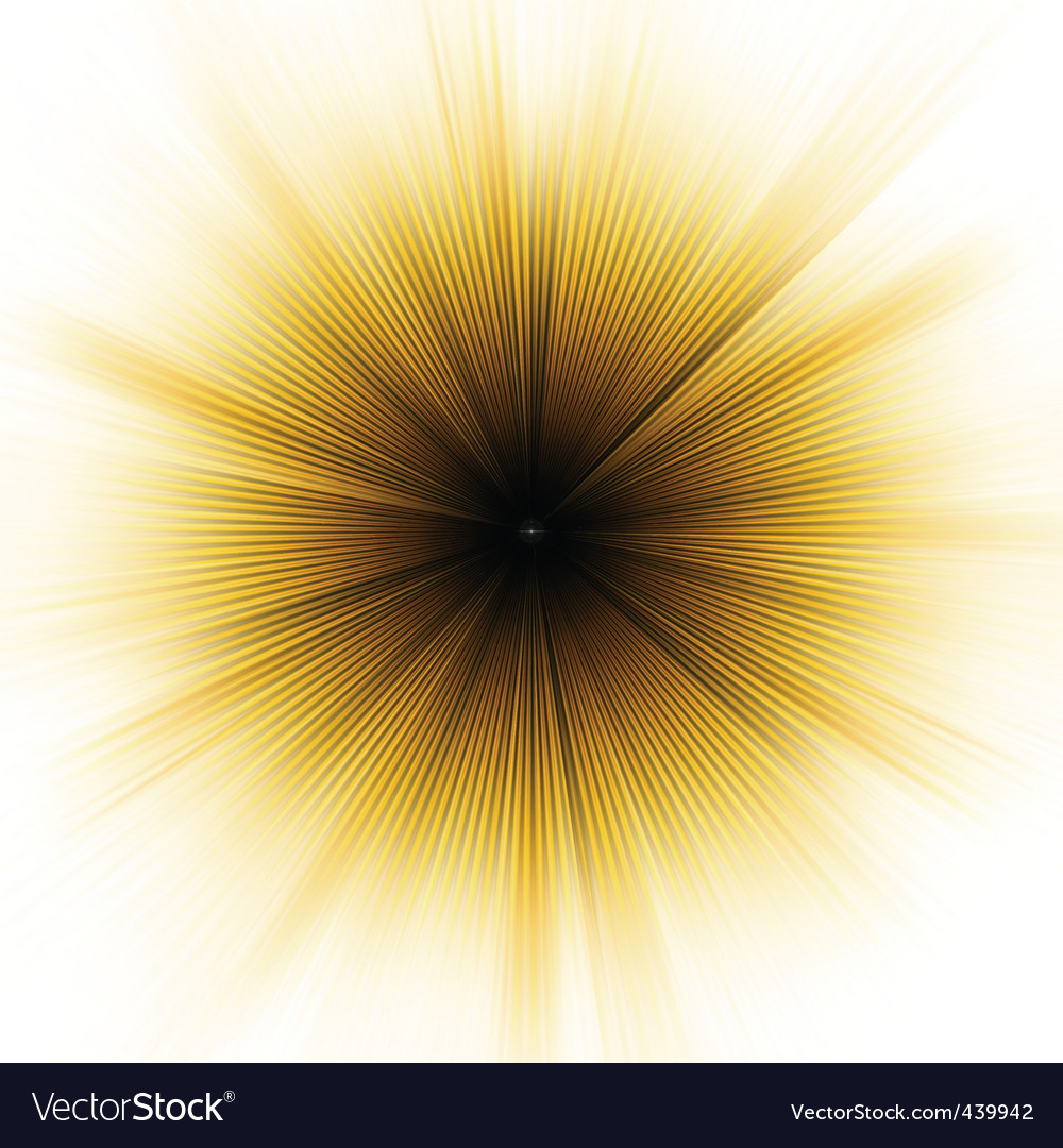 Golden explosion of light vector | Price: 1 Credit (USD $1)