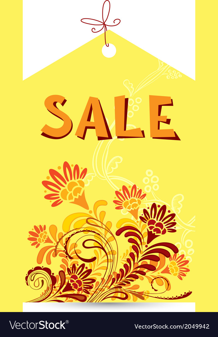 Sale tag vector | Price: 1 Credit (USD $1)