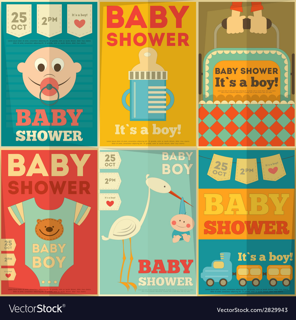 Baby boy set vector | Price: 1 Credit (USD $1)