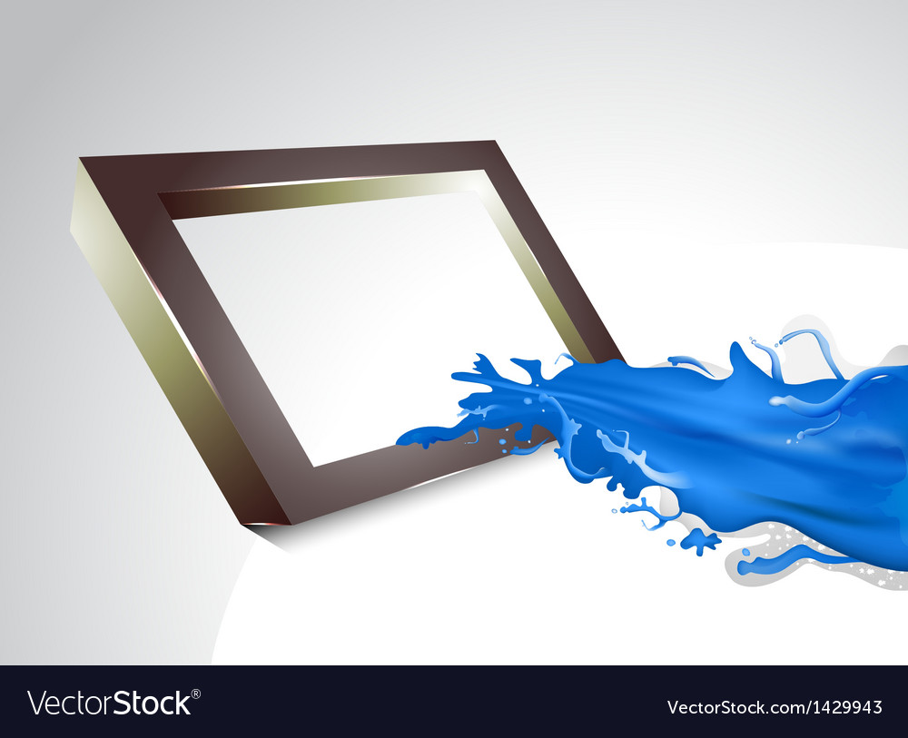 Blue splash vector | Price: 1 Credit (USD $1)
