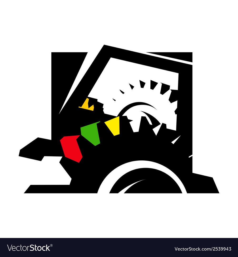 Computer technology sign vector   Price: 1 Credit (USD $1)