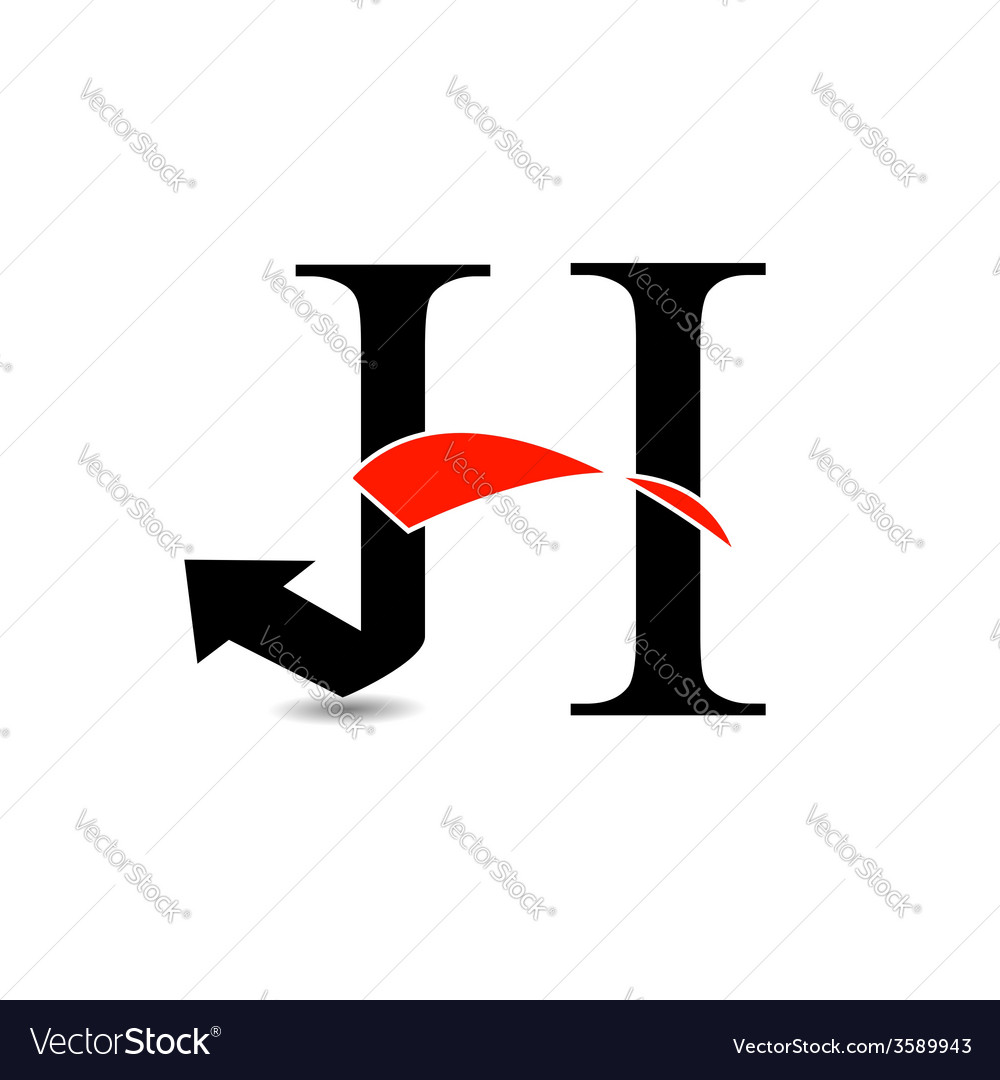 Logo abstract letter h vector | Price: 1 Credit (USD $1)