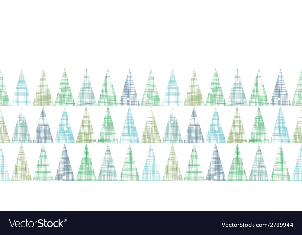 Abstract christmas trees forest in snow vector | Price: 1 Credit (USD $1)
