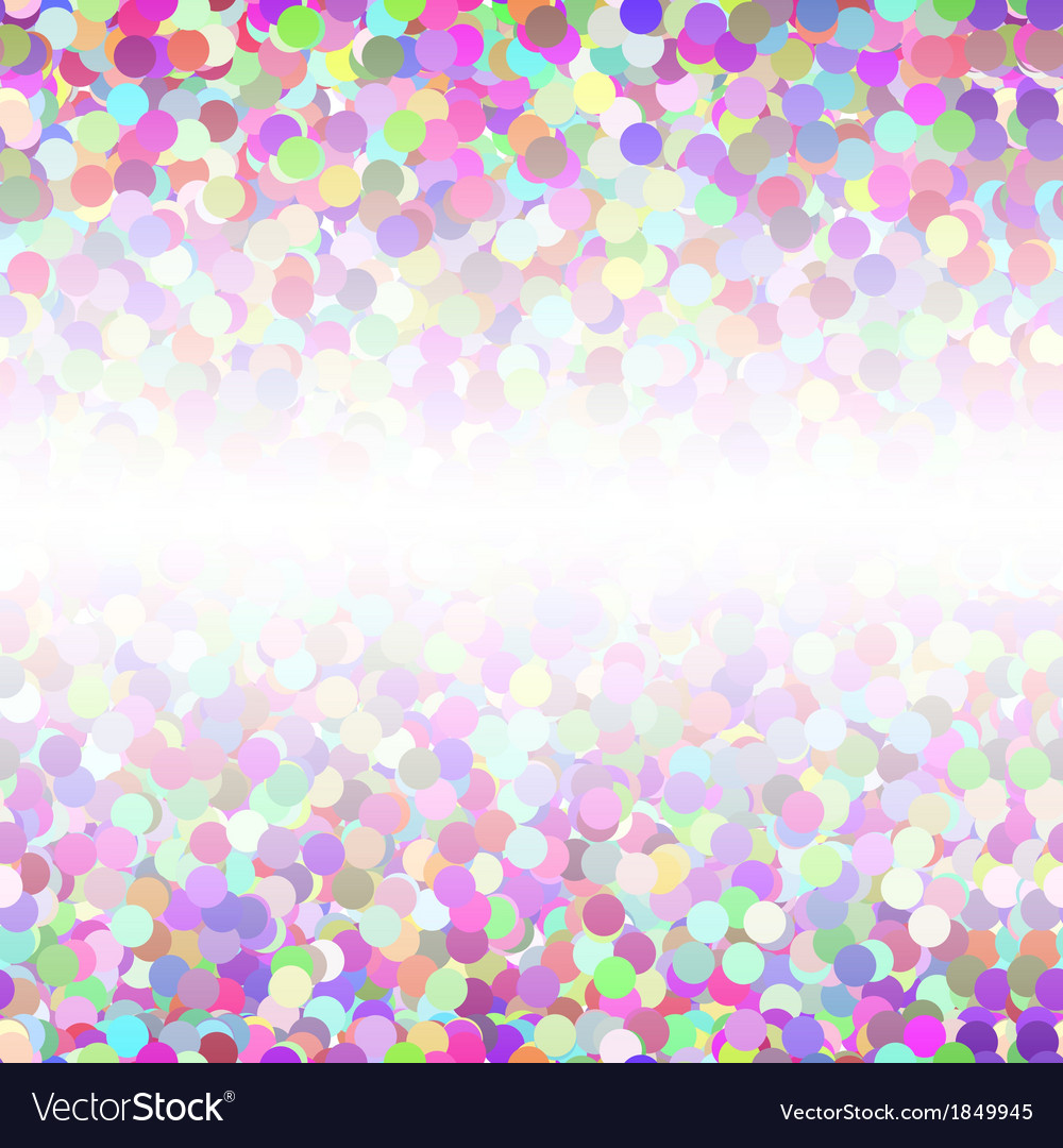 Abstract colorful confetti seamless background vector | Price: 1 Credit (USD $1)