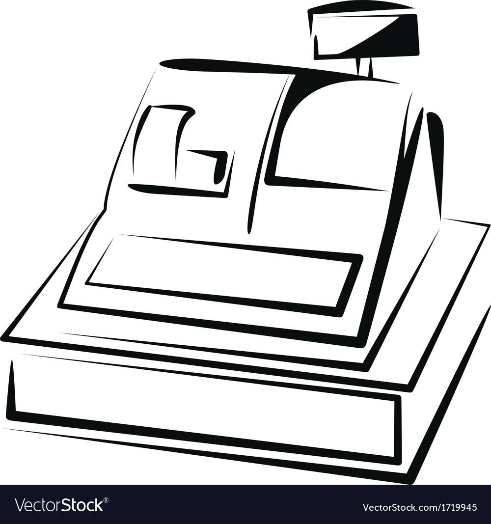 Cash register vector | Price: 1 Credit (USD $1)