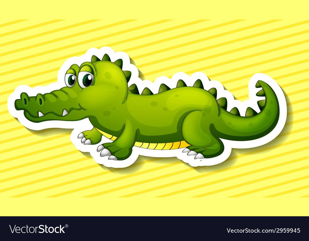 Crocodile vector   Price: 1 Credit (USD $1)
