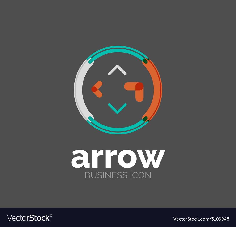 Minimal line design logo vector   Price: 1 Credit (USD $1)