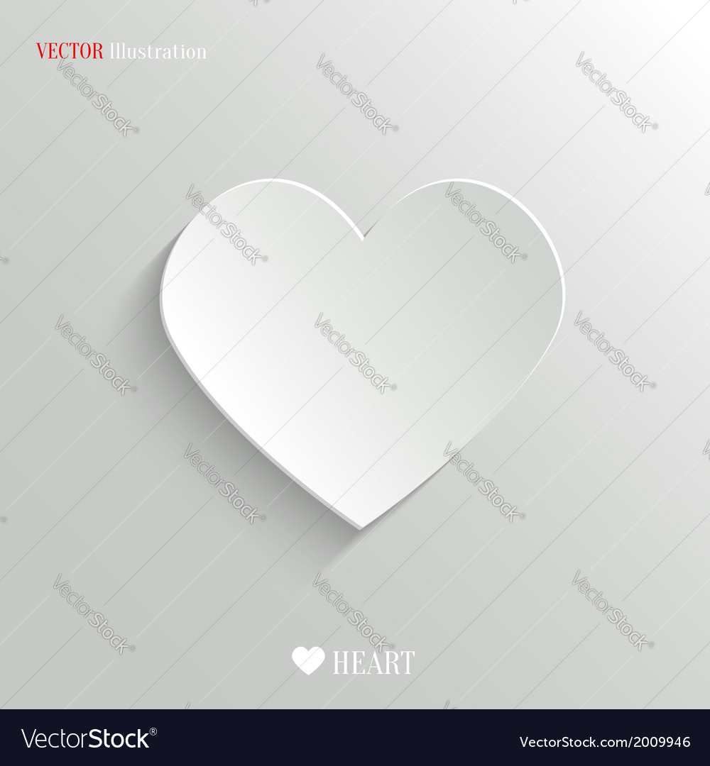 Heart icon - web background vector | Price: 1 Credit (USD $1)
