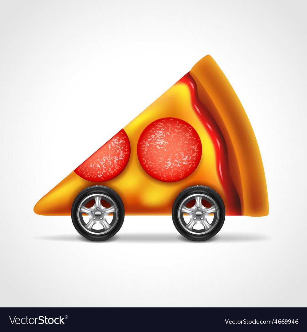 Pizza delivery concept vector   Price: 3 Credit (USD $3)