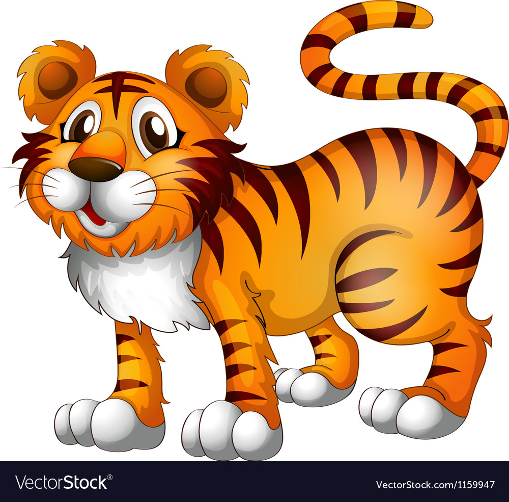 A tiger vector | Price: 1 Credit (USD $1)