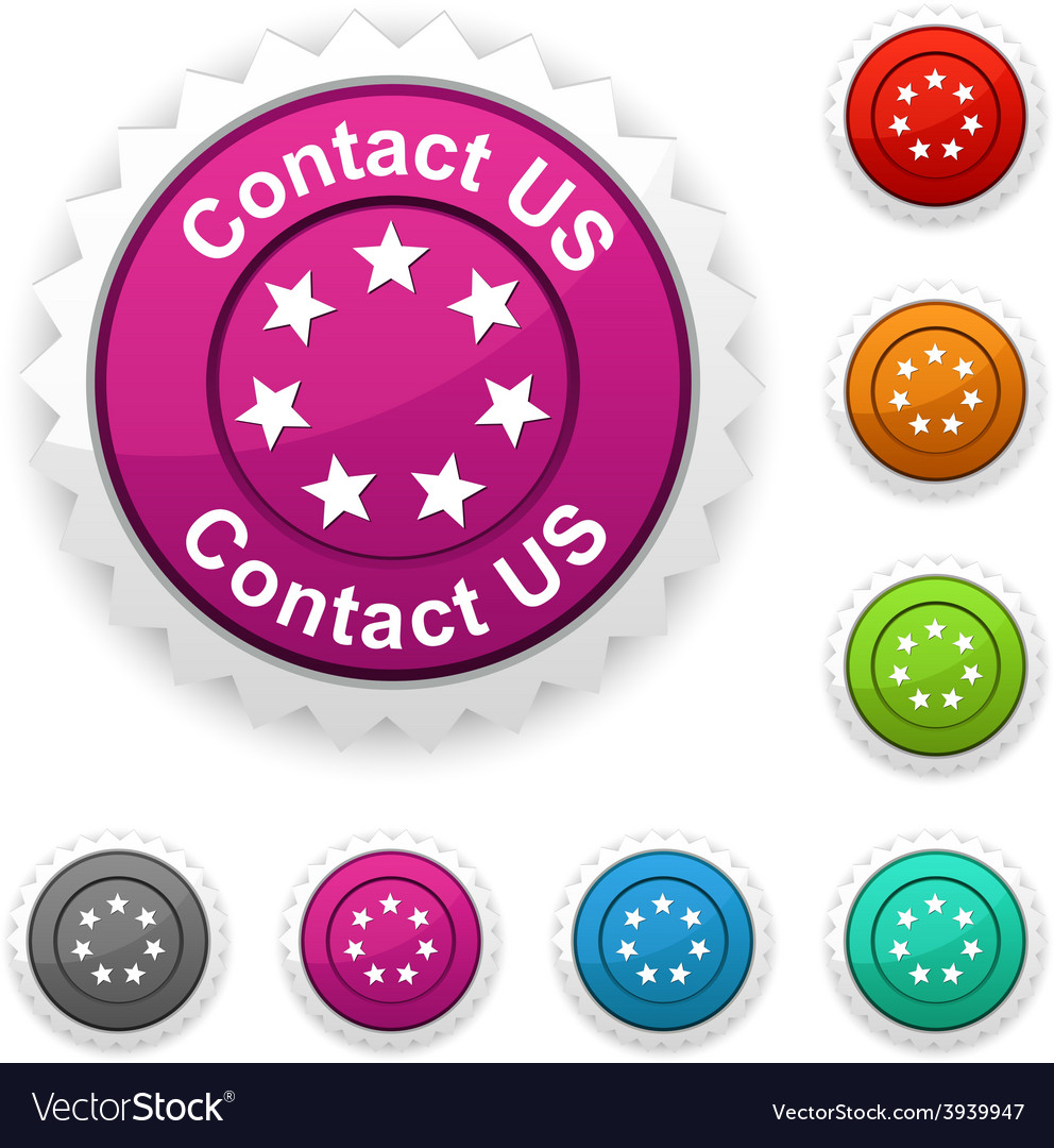 Contact us award vector | Price: 1 Credit (USD $1)