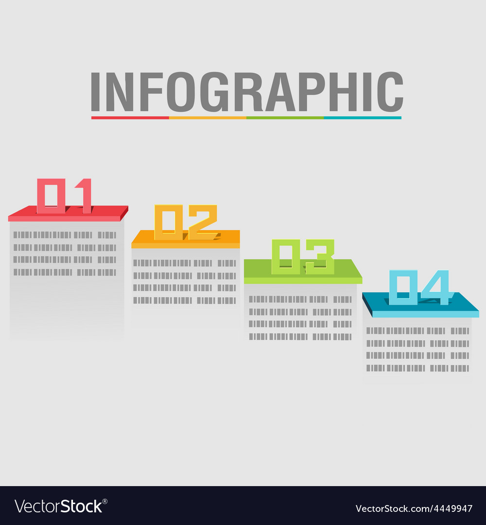 Info graphic layer color abstract shelves vector   Price: 1 Credit (USD $1)