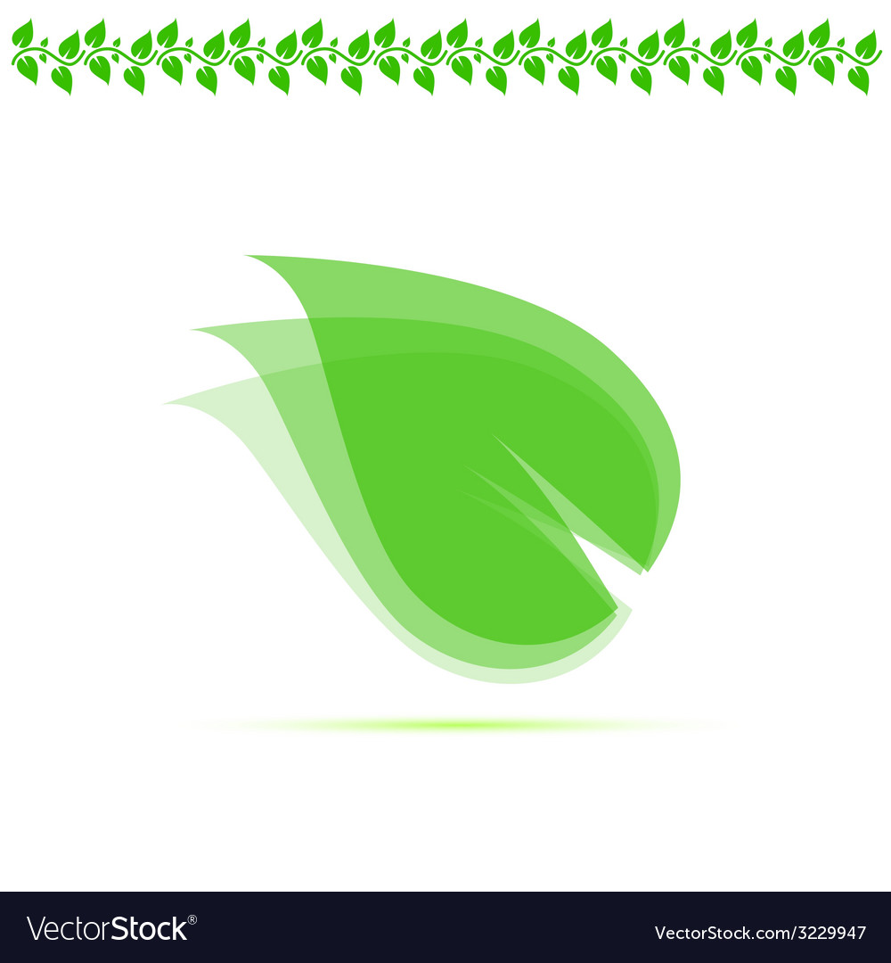 Leaf green vector | Price: 1 Credit (USD $1)