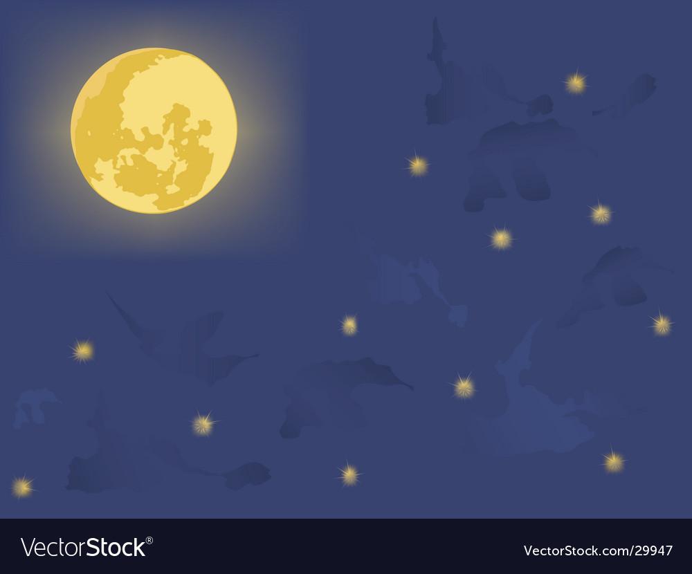 Moonlight vector | Price: 1 Credit (USD $1)