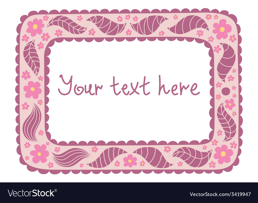 Original tablet with vintage flowers and doodles vector | Price: 1 Credit (USD $1)