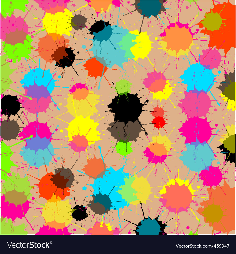 Splash cream background vector | Price: 1 Credit (USD $1)