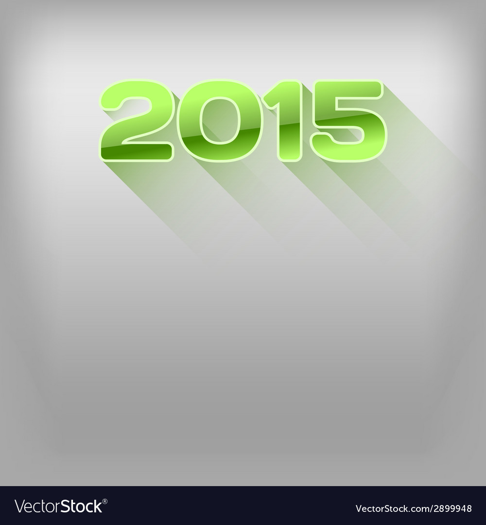 2015 long shadow green vector | Price: 1 Credit (USD $1)