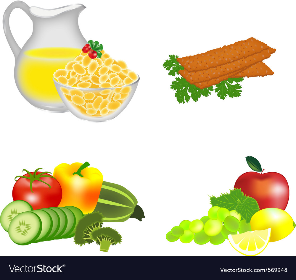 Dietary food vector | Price: 1 Credit (USD $1)