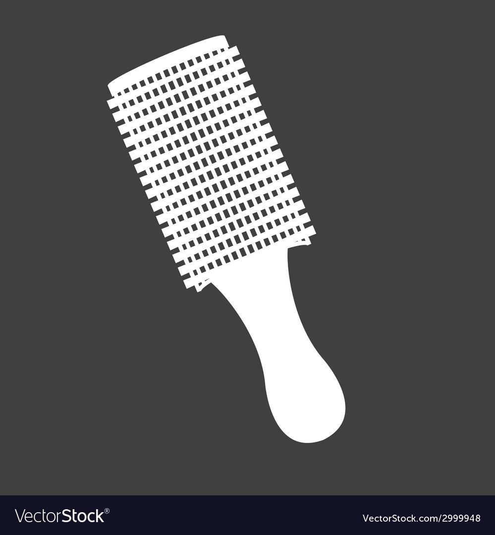 Hair brush design vector | Price: 1 Credit (USD $1)