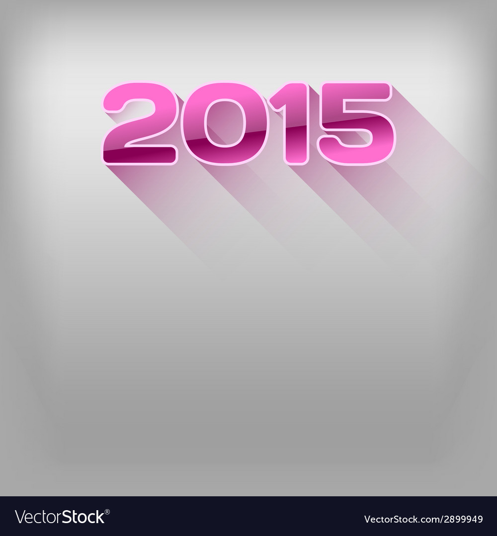 2015 long shadow pink vector | Price: 1 Credit (USD $1)