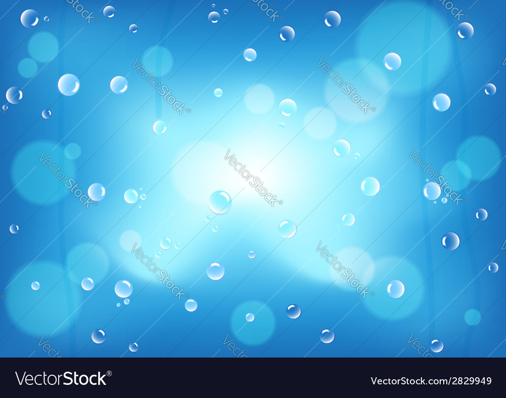 After rainy window background vector | Price: 1 Credit (USD $1)