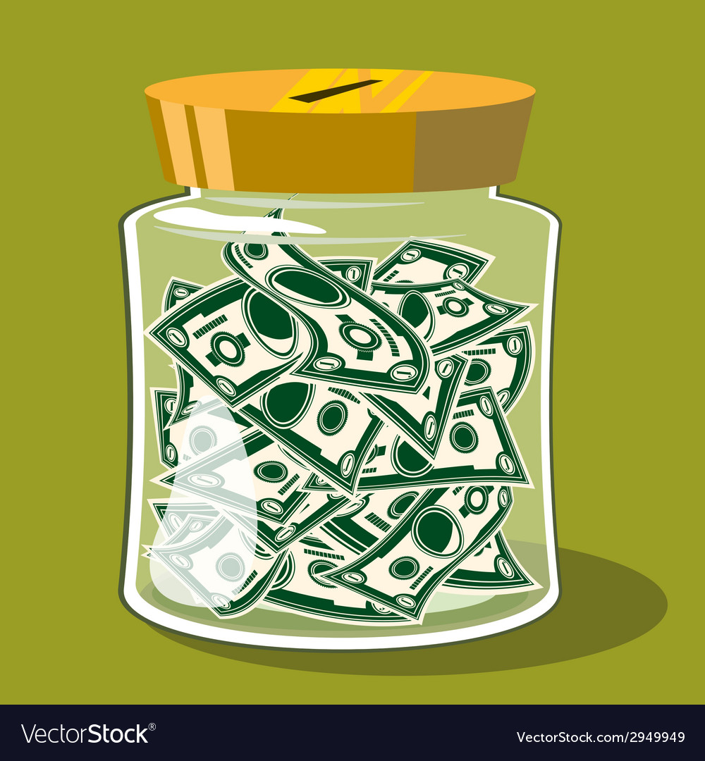 Bank money vector | Price: 1 Credit (USD $1)