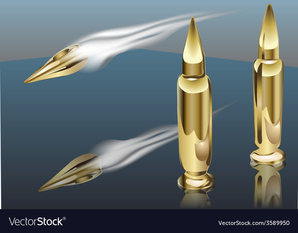 Bullet smoke vector | Price: 1 Credit (USD $1)