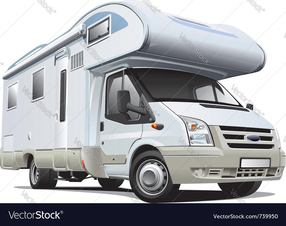 Camper van vector | Price: 5 Credit (USD $5)