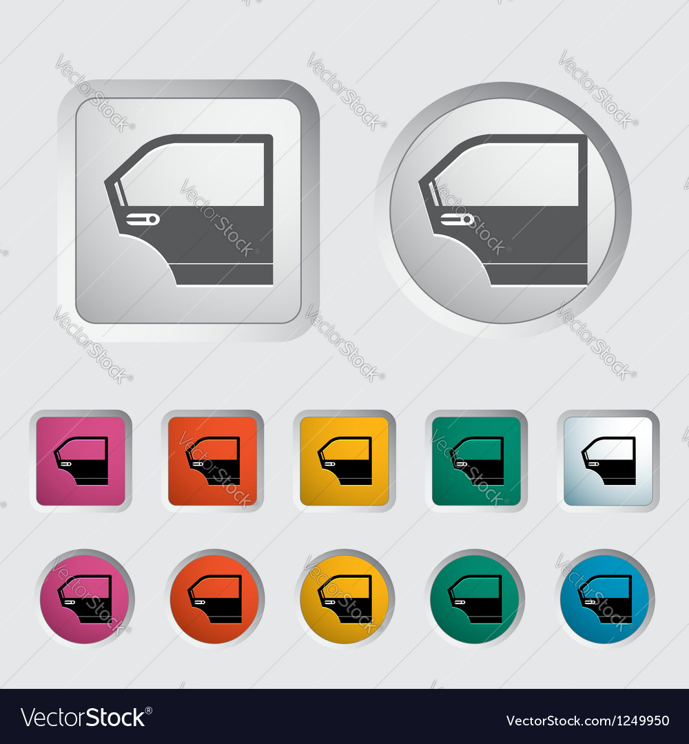 Car door vector | Price: 1 Credit (USD $1)