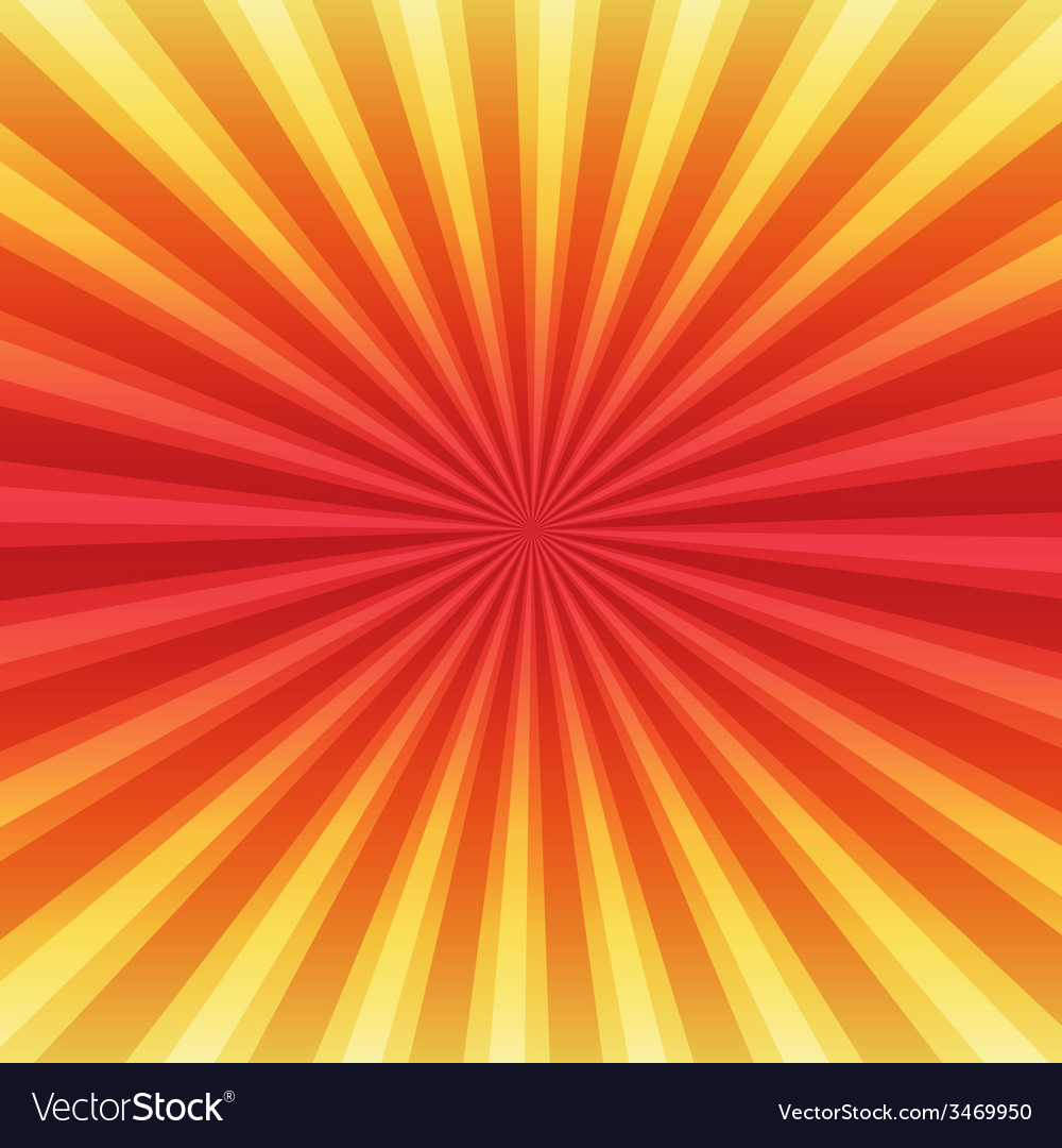 Summer rays holiday vintage on light sun color vector | Price: 1 Credit (USD $1)
