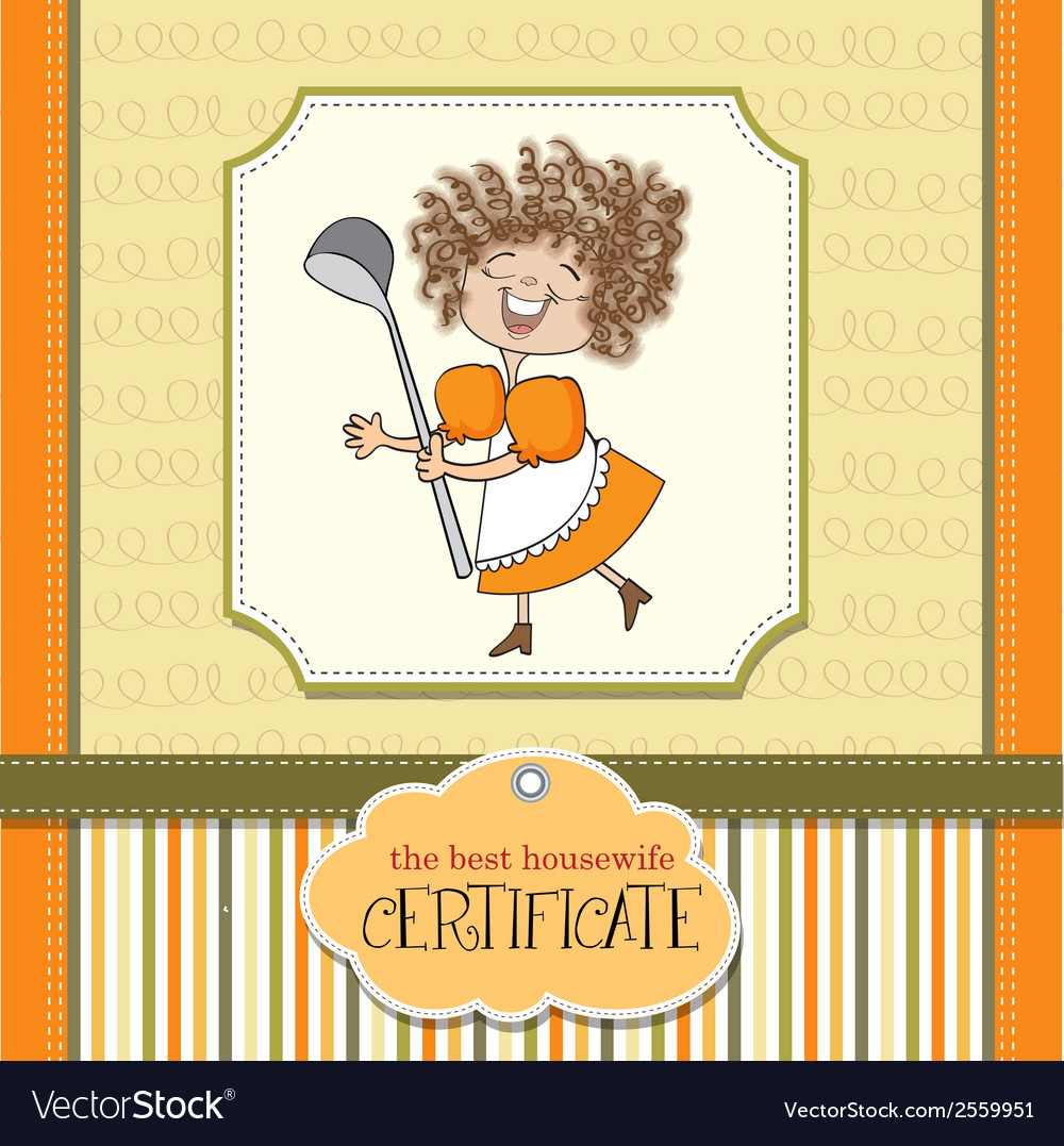 Best wifehouse certificate vector | Price: 1 Credit (USD $1)