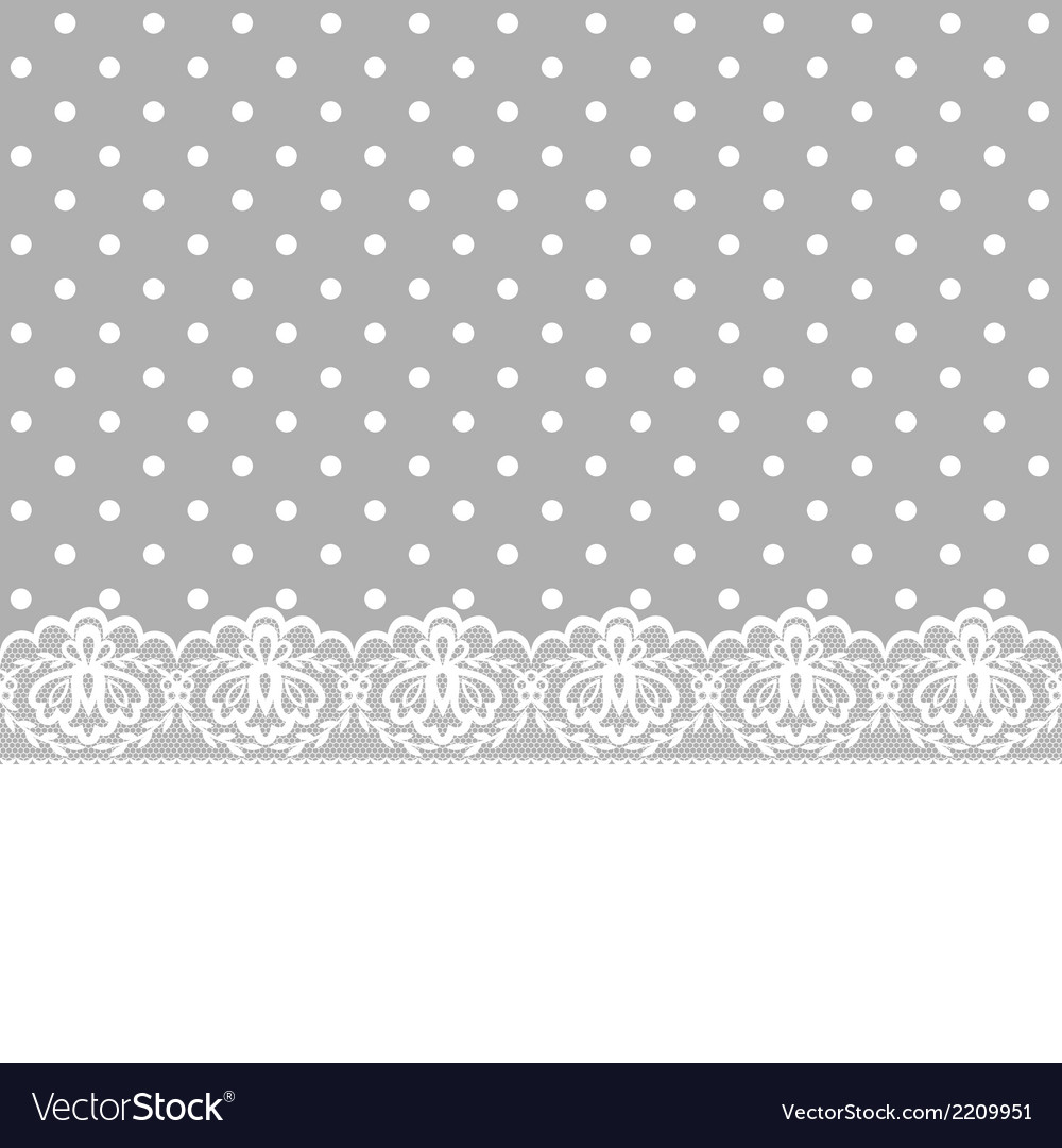Card with lace border vector | Price: 1 Credit (USD $1)
