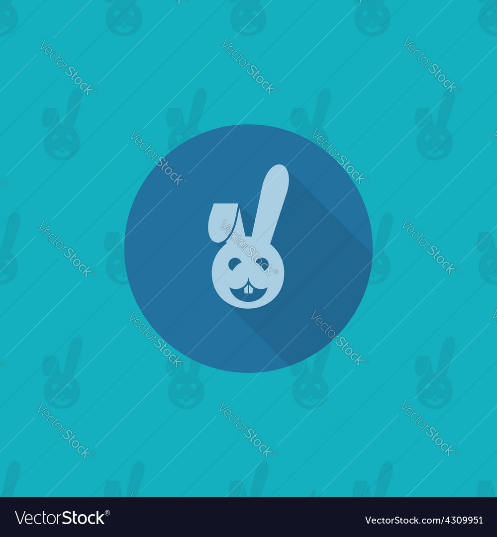 Celebration easter icon vector | Price: 1 Credit (USD $1)