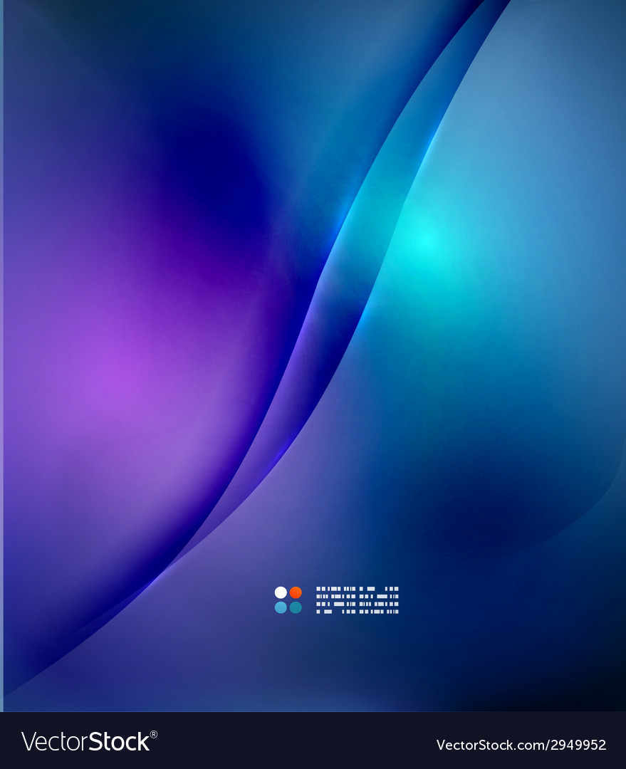 Blue blurred colors abstract background vector | Price: 1 Credit (USD $1)