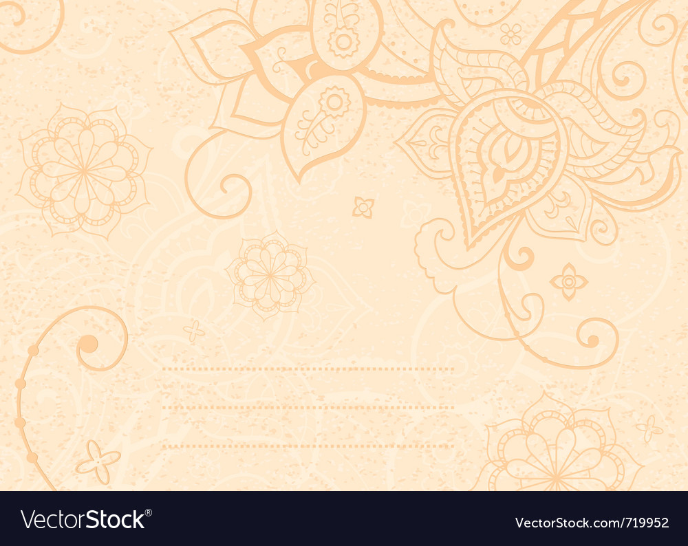 Decorative indian style vector | Price: 1 Credit (USD $1)