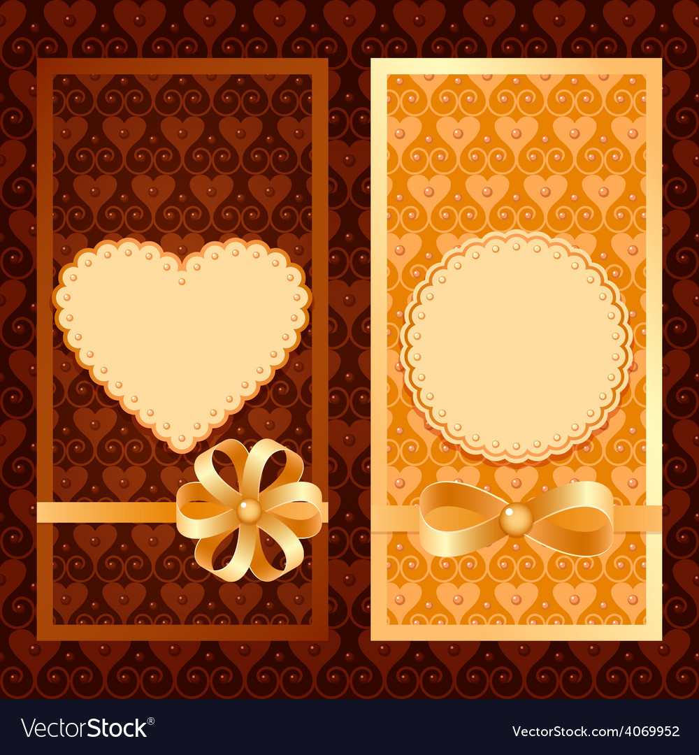 Set of invitation cards vector   Price: 1 Credit (USD $1)