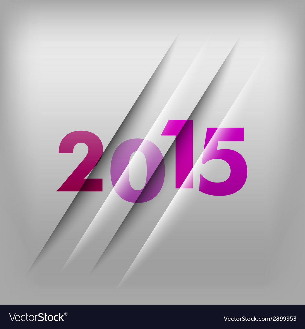 2015 numbers purple vector | Price: 1 Credit (USD $1)