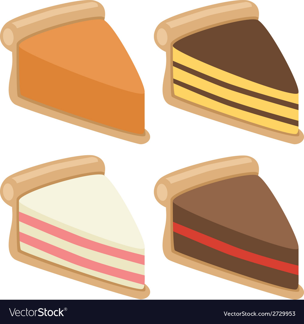 Cake collection vector | Price: 1 Credit (USD $1)